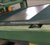 ブランクにすることのための長さラインに切られる鋼板