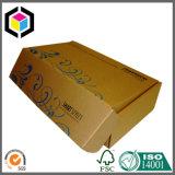 Flexoの色刷のクラフトの波形の出荷ペーパー郵送ボックス