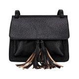 Casual Bolsas de ombro femininas Bolsas mensageiras Tassle Bag