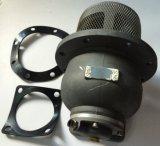 Borde redondo de la válvula inferior neumática accesoria del carro del tanque