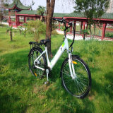 спрятанный 26inch велосипед батареи электрический для женщин