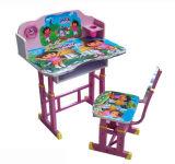 Le Tableau réglable moderne d'étude de mobilier scolaire badine le bureau d'élève (HX-SK002)