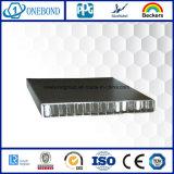 El panel de aluminio incombustible barato del panal de la venta caliente