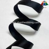 tessitura di nylon Herringbone nera di 25mm