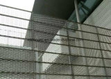 Cerca ampliada galvanizada del acoplamiento de alambre de metal