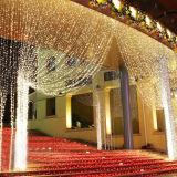 IP44waterproof LEIDENE Kerstmis 3*3m het Licht van het Gordijn 600LEDs