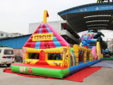 Circus Inflatable Obstacle Course Bouncer Obstacle for Kids