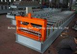 Telhadura do perfil do metal do aço frio que dá forma à maquinaria