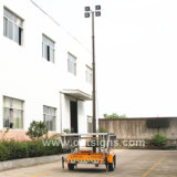 N6001 LED Light Tower, Mobile Lichttoren, Solar Light Tower