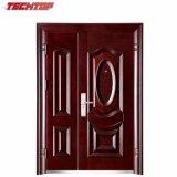 Puerta exterior de la casa de la puerta de TPS-055sm del gemelo de la seguridad compuesta doble de la puerta