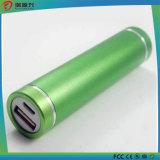 Батарея Powerbank Li-иона материала 2600mAh оптовых продаж алюминиевая для iPhone & Android