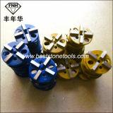 CD-49 다이아몬드 금속 유대 구체적인 지면 가는 닦는 패드