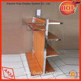 Het houten Systeem van de Vertoning van de Kleding voor Winkel