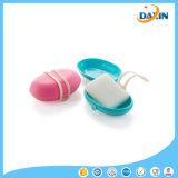 自由な出荷の方法携帯用シリコーンのシールの石鹸ボックス、
