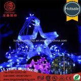 Van de LEIDENE van de Ster van sneeuwvlokken Decoratie Festivial van het Koord Fee van de Vakantie de Lichte