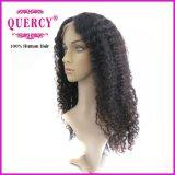 Парик нового Afro фронта шнурка типа человеческих волос прибытия бразильского Kinky курчавый