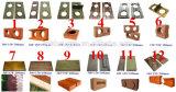 Máquina de fatura de tijolo manual da argila Qmr2-40 no cantão 2017 justo