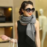 형식에 의하여 주문을 받아서 만들어지는 숙녀 긴 실크 스카프 및 숄 Hijab 스카프