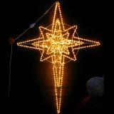 [لد] [بول] نجم عيد ميلاد المسيح حلية أضواء لأنّ عطلة شارع زخرفة