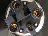 Enchufe de socket industrial de la aplicación del montaje del panel del borde