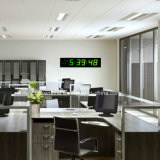 Elektrische große Wand-Zeit-Innentaktgeber LED-Digital für ältere Personen