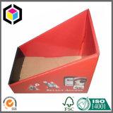 De matte Vertoning die van het Karton van de Supermarkt van het Af:drukken van de Kleur de Bak van het Karton vouwen