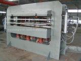 중국 Linyi 160 톤 최신 압박 기계를 작동하는 나무 3개의 층 합판