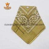 Оптовый многофункциональный шарф Paisley флористический напечатанный квадратный