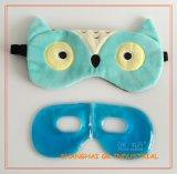 Paquete de hielo curativo de la máscara de ojo del calor del buho