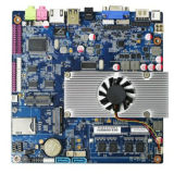 La mini scheda madre di Itx Top2550 con la scanalatura di SIM, lo zoccolo 2*Minipcie, ha supportato Pcie e l'unità del USB