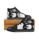 Zapatos unisex de la aduana de la impresión de la sublimación de las zapatillas de deporte de la lona