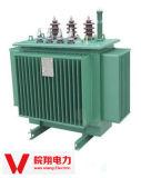 Transformateur immergé dans l'huile/transformateur/transformateur triphasé