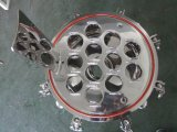 Wasser-Reinigungsapparat, Kassetten-exaktes Wasser-Filtergehäuse des Flansch-Art-gesundheitliche Edelstahl-pp.