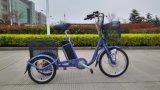 حارّ عمليّة بيع [36ف] [250و] 3 عجلة درّاجة كهربائيّة مع سلّة كبيرة لأنّ شيخة