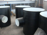 Asphalte Anticorrosif et Externe Epoxy Carbure de Charbon Anti-Corrosion Pipe Fitting