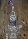卸し売り高品質のホウケイ酸塩のPyrex Handblown陶酔するようなIlluminatiの風車の特典のガラス配水管