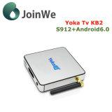 지능적인 인조 인간 6.0 텔레비젼 상자 3G 32g Yokatv Kb2 직업적인 Ott IPTV 상자
