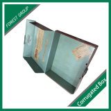 광택 있는 박판을%s 가진 색깔 물결 모양 상자를 인쇄하는 Cmyk