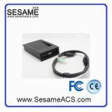 USB van de Desktop Lezer van het Identiteitskaart van de 125kHz- Lezer Mf1 13.56MHz de Facultatieve 125k (SR7DA)