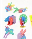 Pädagogisches Spielzeug Kinder EVA-3D 3D des Puzzlespiels EVA