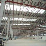 Almacén de la estructura de acero de la alta calidad con el aislante