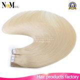 皮のWeft人間の毛髪の優れた品質の金人間の毛髪テープ毛の拡張