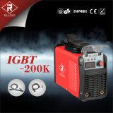 플라스틱 상자 (IGBT-140K/160K/200K)를 가진 MMA 변환장치 용접 기계