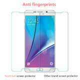 Protecteur transparent élevé d'écran pour la note 5 de Samsung