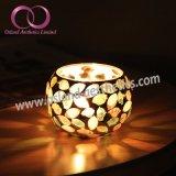 トルコのモロッコのガラス蝋燭ホールダー型のモザイク・ガラスのTealightの蝋燭ホールダーの蝋燭のコップ