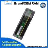Ecc van de Garantie van het leven niet RAM DDR3 4GB 1333MHz