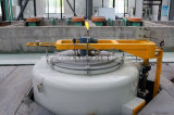 Tipo fornalha do poço da nitruração do gás para as engrenagens, correntes, rolamentos, componentes hidráulicos
