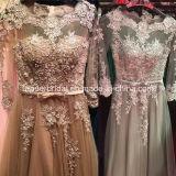 1 PC Drop Shipping robe de mariée de mariée en dentelle à manches longues robe de mariée sur mesure (W52202)