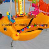 Una macchina dei 6 delle sedi dei bambini del Kiddie di giro pesci dell'oscillazione