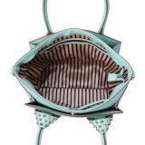 Модная бирюза заклепывает сумки женщин (MBNO041062)